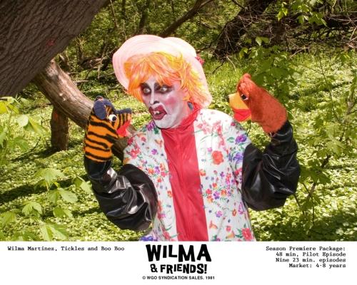"Marketing still for Wilma's kids show, ""Wilma & Friends""."